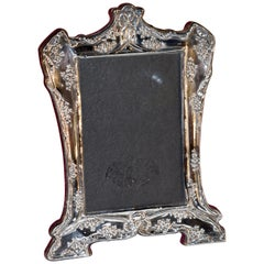 Sterling Art Nouveau Picture Frame
