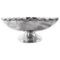Sterling Bowl on Pedestal
