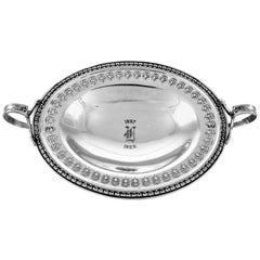 Sterling Bowl with Handles