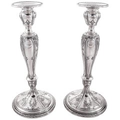 Sterling Candlesticks by Dominick and Haff