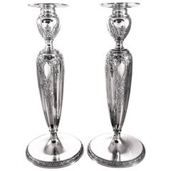 Sterling Candlesticks by International