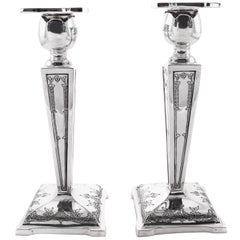 Sterling Candlesticks, circa 1919