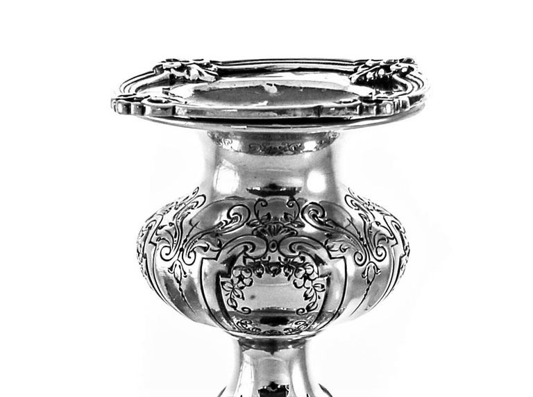 American Sterling Candlesticks For Sale
