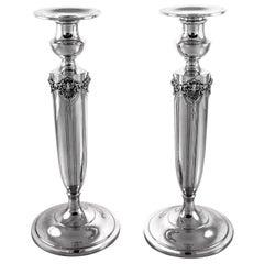Kerzenhalter aus Sterling