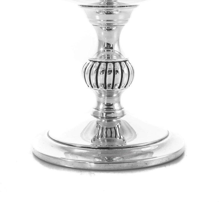 Mid-20th Century Sterling Compote For Sale