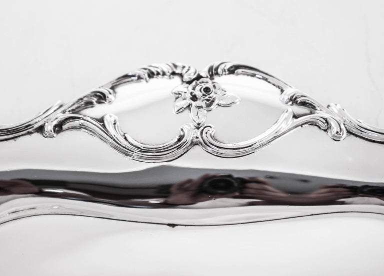 Late 19th Century Sterling Dish, 1899 For Sale