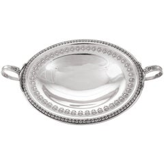 Sterling Dish with Handles