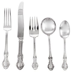 Sterling Flatware 12/5 Settings