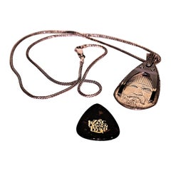 Sterling Guitar Pick Pendant by William Henry and Zac Brown