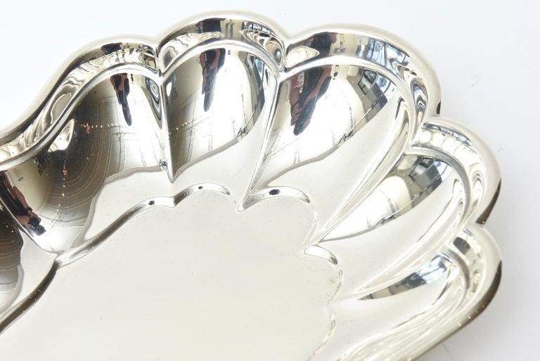 American Sterling Hallmarked Silver Bowl Vintage For Sale