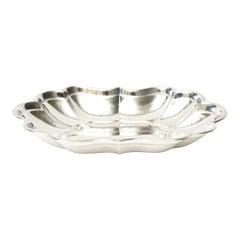 Sterling Hallmarked Silver Bowl Vintage