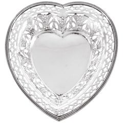 Sterling Heart Dish