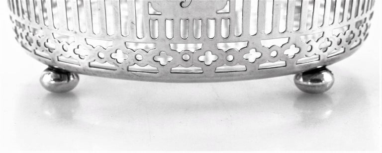 Sterling Ice Bucket In Excellent Condition For Sale In Brooklyn, NY