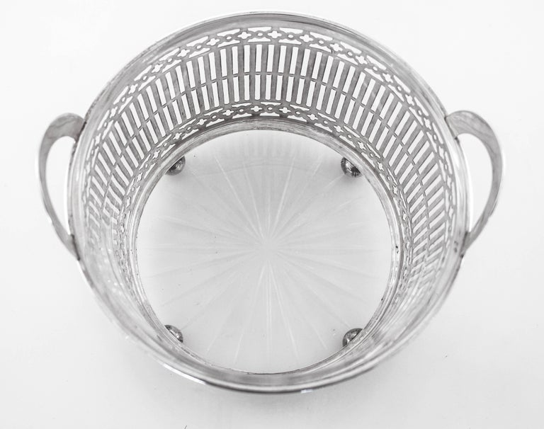 Sterling Silver Sterling Ice Bucket For Sale