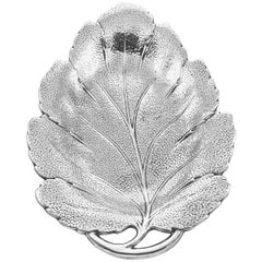 Sterling Leaf Dish