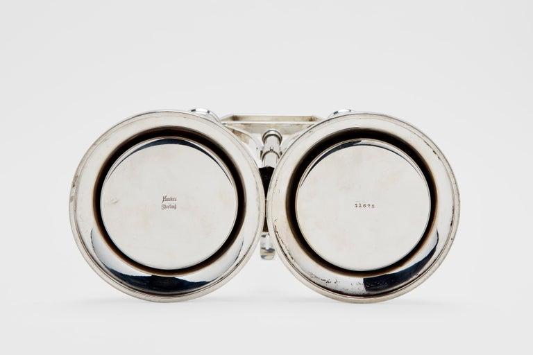 American Sterling Locking Decanter Set For Sale