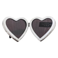 Sterling Mid-Century Double-Heart Frame