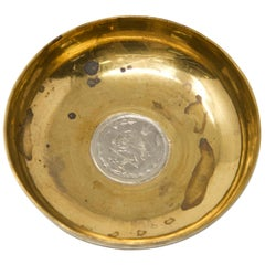 Sterling over Copper Coin Dish