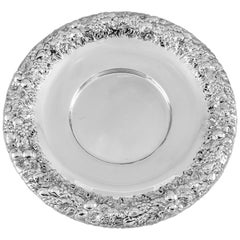 Sterling Repousse Plate