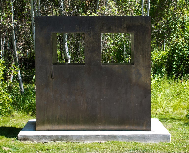 Big Grid / Solo Tear - Contemporary Sculpture by Sterling Ruby