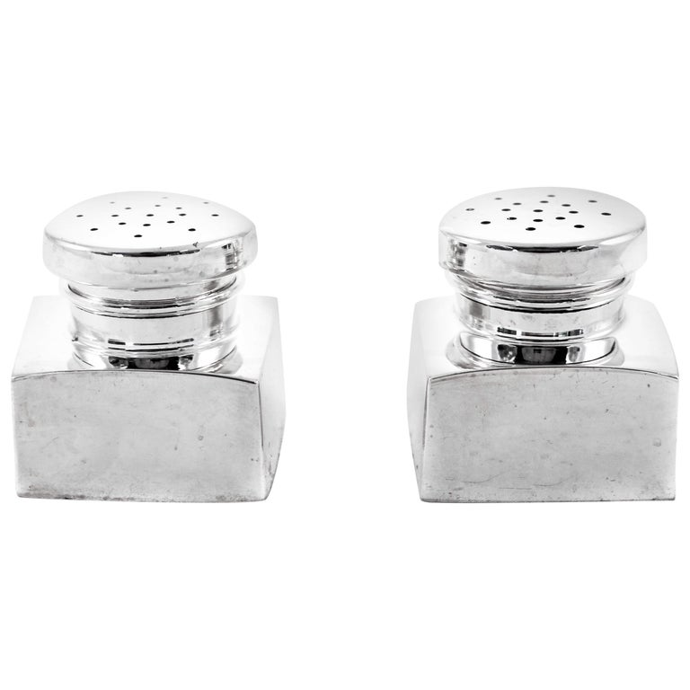 Sterling Salt and Pepper Shakers For Sale