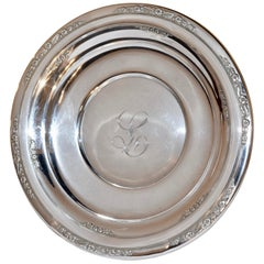 Sterling Sandwich Plate, circa 1936