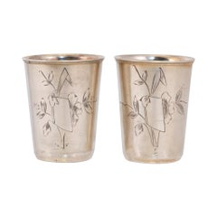Sterling Shot Glasses
