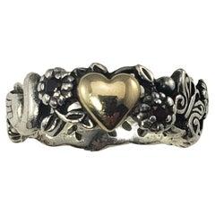 Sterling Silver/14 Karat Yellow Gold Ring