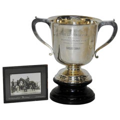 Sterling Silver 1925 Kentucky Latonia Horse Race Cup