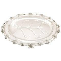 Sterling Silver and Sheffield Plate Venison Dish, Antique Victorian