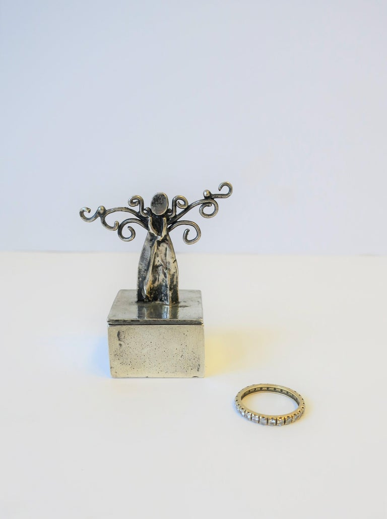 Sterling Silver Angel Box For Sale 2
