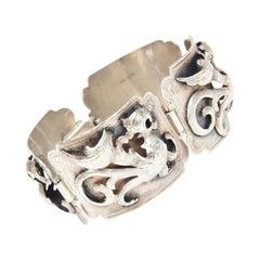 Sterling Silver Argentinian Bracelet Signed