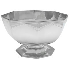 Sterling Silver Art Deco Bowl