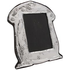 Sterling Silver Art Nouveau Photograph Frame