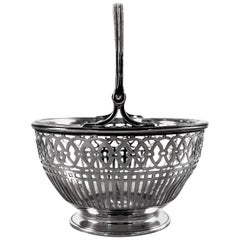 Sterling Silver Basket