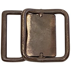 Sterling Silver Belt/Sash Buckle