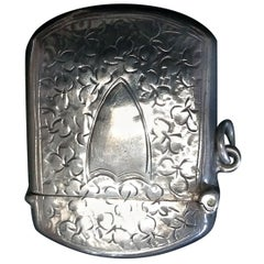 Sterling Silver Birmingham Match Safe Box