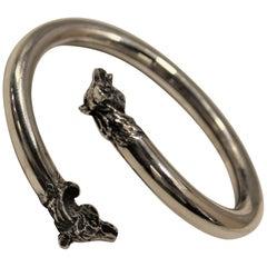 Sterling Silver, Bracelet, Horse, Handmade, Italy