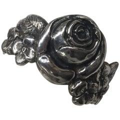 Sterling Silver, Bracelet Rose, Handmade, Italy