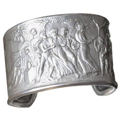 Sterling Silver Bracelet with Bacchanal Scene 'from a Roman Marble Bas-Relief'