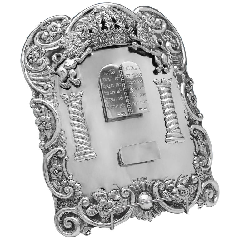 Sterling Silver Breast Plate For Sale