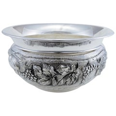 Sterling Silver Cachepot, Italy