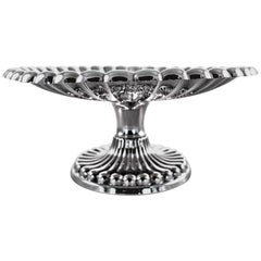 Sterling Silver Cake Plate, 1932