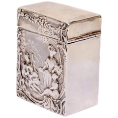 Sterling Silver Card Case by Comyns of London, circa 1959