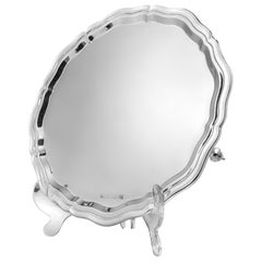Sterling Silver Chippendale Style Salver