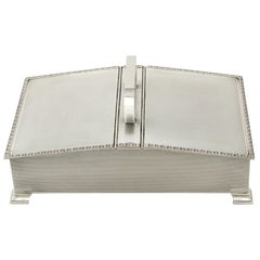 Sterling Silver Cigarette Box