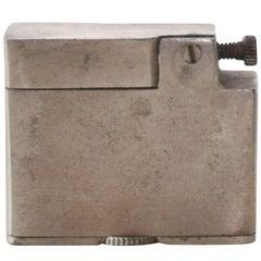 Sterling Silver Cigarette Lighter Vintage Mid-Century Modern