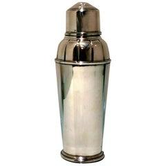 Sterling Silver Cocktail Shaker Birmingham 1934 RW Burbridge for Harrods