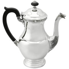Sterling Silver Coffee Pot, 1959