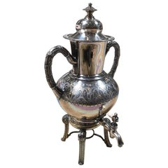 Sterling Silver Coffee Tea Dispenser